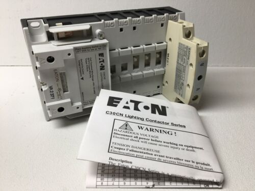 New!  Eaton  C30CNE20A0   Lighting Contactor   (#5677,#6439)