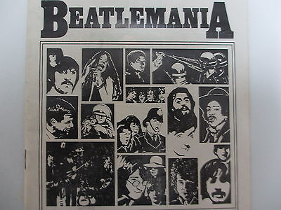 BEATLEMANIA Playbill August 1980 Shubert Theatre Chicago; Vintage Beatle Related