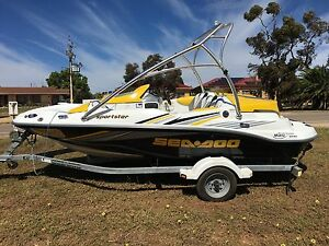 Boat Seadoo Sportster 215hp Supercharged Rotax Adelaide CBD Adelaide City Preview