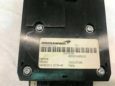 MCLAREN MP4-12C INTERIOR REVERSE CONTROL UNIT WITH CARBON COVER OEM 11M1245CP.01