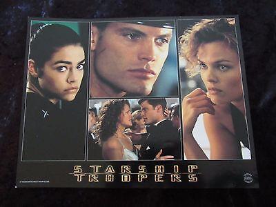 Starship Troopers lobby card # 2 - Casper Van Dien, Denise Richards