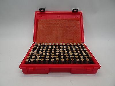 Mhc M3 Minus Steel Plug Gage Set .501 - .625 - Machinist Pin Gage
