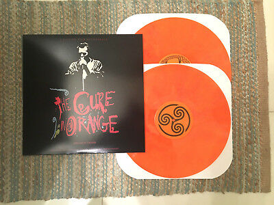 The Cure Live In Orange Double Color Vinyl Lp 1986 Faith Pornography The Top