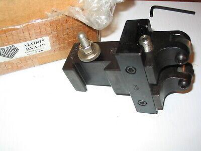 Aloris Bxa-19 Adjustable Knurling Quick Change Tool Post Holder