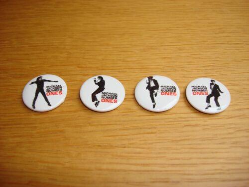 Michael Jackson Number Ones 2003 Columbia Records Promo Badge Set MEGA RARE