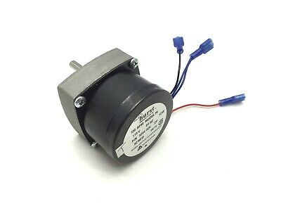Hurst 3204-026 Synchronous Gear Motor Voltage 115vac Power 10w Speed 120rpm