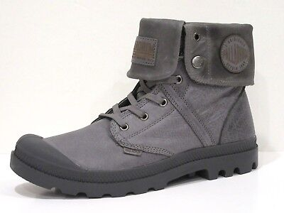 Palladium Men's Pallabrouse Baggy L2 Chukka Boot  French Metal
