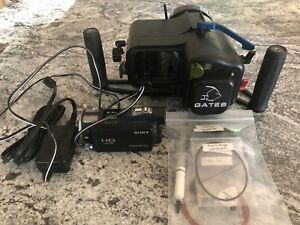 Sony HDR CX-700 and Gates underwater housing.  Price Reduced!