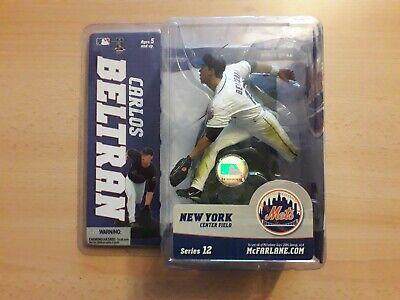 MLB McFarlane Figur Carlos Beltran New York Mets Trikot weiß RAR NFL Giants Jets