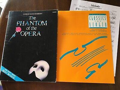 VIOLIN  Andrew Lloyd Webber's The Phantom of the Opera and Classics for Violin Andrew Lloyd Webber Violin