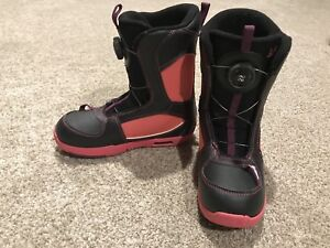 Kids Snowboard Boots with Boa Lacing