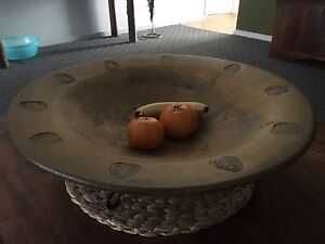 Large Ceramic Bowl on stand Florey Belconnen Area Preview