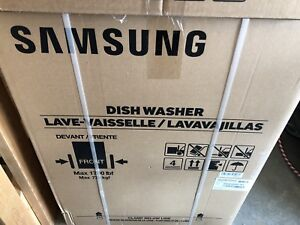 New in box Samsung energy star stainless steel dishwasher