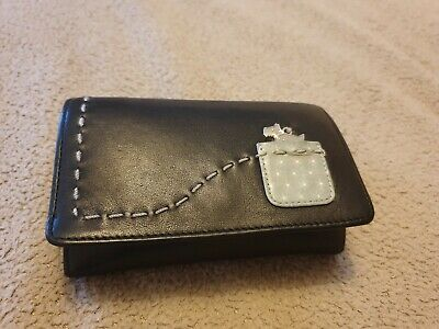 Black leather medium sized leather Radley Purse