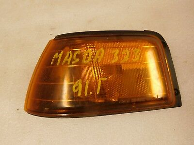 1991 Mazda 323 Left Side Marker Light OEM - Mazda 323 Side Marker