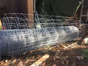 Wire fence