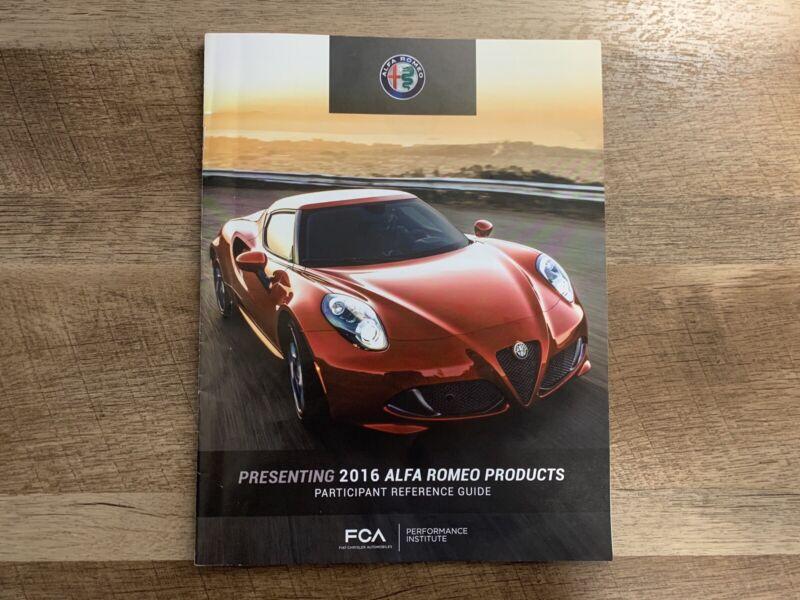 Alfa Romeo Dealer Delivery Booklet