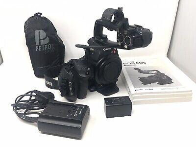 Canon EOS C100 Camcorder Video Digital Cinema Camera Super 35mm Full HD