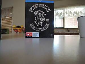 Sons of Anarchy complete series. Boxed set on Blu Ray Cranbourne North Casey Area Preview