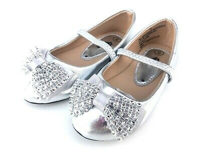 Baby Infant Toddler Girls Flat Strap Dress Shoes Size 4-9 New
