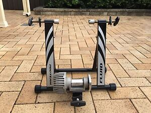 Indoor fluid exercise bike training stand South Wentworthville Parramatta Area Preview