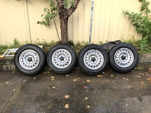 X4 Hilux Workmate Wheels 15 inch