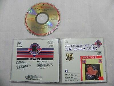 Johnny Cash - The Super Stars Series Rare Korea 24K Gold CD / NO BARCODE
