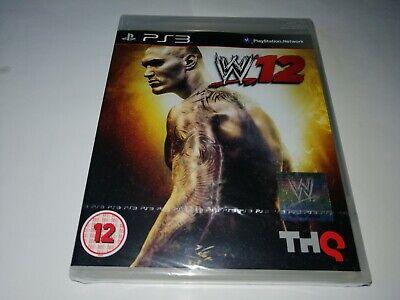 WWE '12, PS3, NEW, SEALED !!! segunda mano  Embacar hacia Argentina