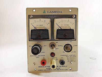 Lambda Regulated Power Supply Model Lh 121 A Fm