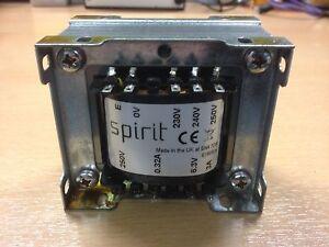 100VA Mains transformer for Valve tube amps 250V + 6.3V 3A