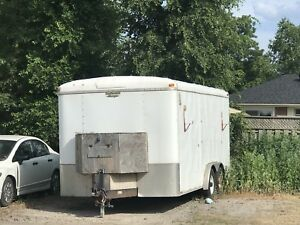 16 foot enclosed trailer 10000 lb payload. 3000$