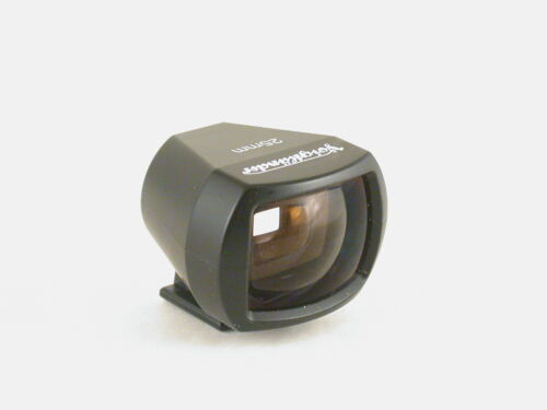 VOIGTLANDER BESSA 25MM VIEWFINDER+V NICE COSMETIC & WORKING CONDITION+EX GLASS