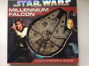 Star Wars: Millennium Falcon 3D Owners Guide Jilliby Wyong Area Preview