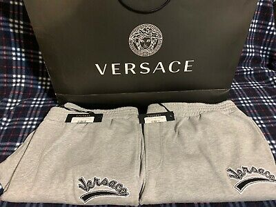 VERSACE sweat pants Size 3xl , 4xl & 6XL 100% Authentic Brand New With Tags 🏷.