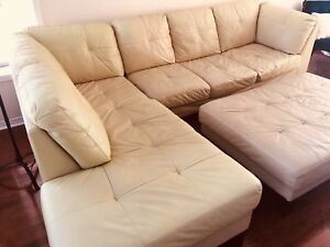 Free Leather Sectional Sofa