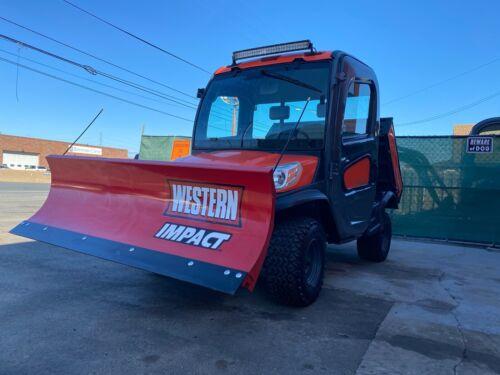 Kubota RTV-X1100C, Brand new Western plow, Kubota diesel, 4x4, AC/HEAT, Radio