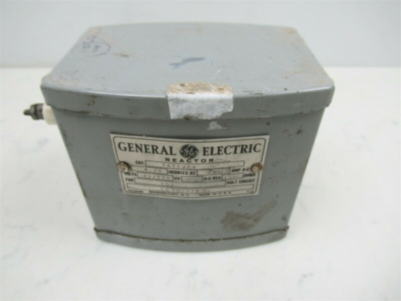 Vintage GE General Electric Reactor Transformer 7471984 Schenectady