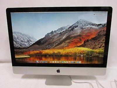 """Apple 27"""" iMac 7, 1 A1312 i3-550 3.2GHz 8GB, 1TB OS 10.13.6"""