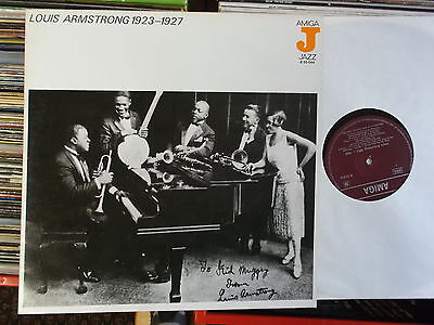 LOUIS ARMSTRONG DDR AMIGA  LP: LOUIS ARMSTRONG 1923-1927 (850044)