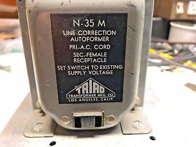 Triad Line Adjust Transformer