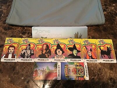 Wizard of Oz - Coin Pusher ALL CARDS - Dave & Busters Prize Ticket TOTO - Wizard Of Oz Toto