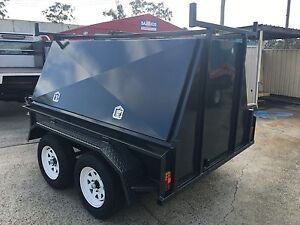 AUSTRALIAN MADE 8x5 BUILDER TRAILER WITH NEW TYRES & RIMS Logan Area Preview