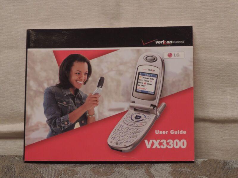 Verizon VX3300 User Guide