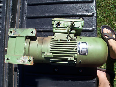 Used Getriebebau Nord Motor Gear Reducer Gear Box
