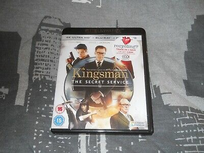 Kingsman the Secret Service, 4K Blu Ray and Blu Ray.