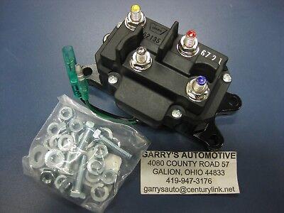 - Warn 63070 Contactor Pack XT25 XT30 RT25 RT30 3.0ci 2.5ci A2500 ATV Quad Winch
