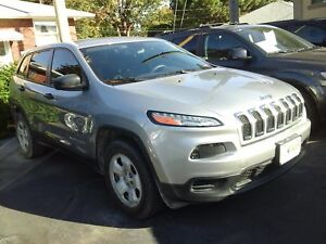 2014 JEEP CHEROKEE SPORT- REAR VIEW CAMERA, U-CONNECT, REMOTE ST