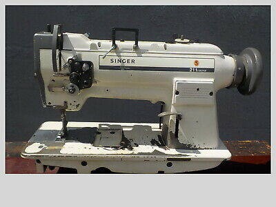 Industrial Sewing Machine Model Singer 211-a967kb Single Walking Foot- Leather