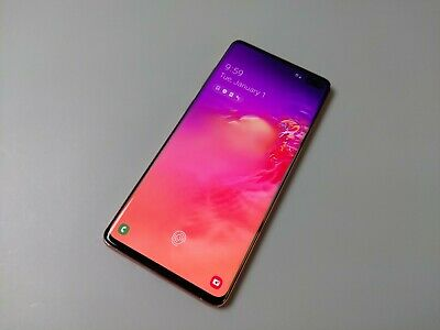 Samsung Galaxy S10+ SM-G975- 128GB - Pink Unlocked Excellent Condition!