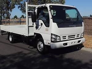 2007 ISUZU NPR 200 TRAY TOP & DROP SIDES Seville Grove Armadale Area Preview
